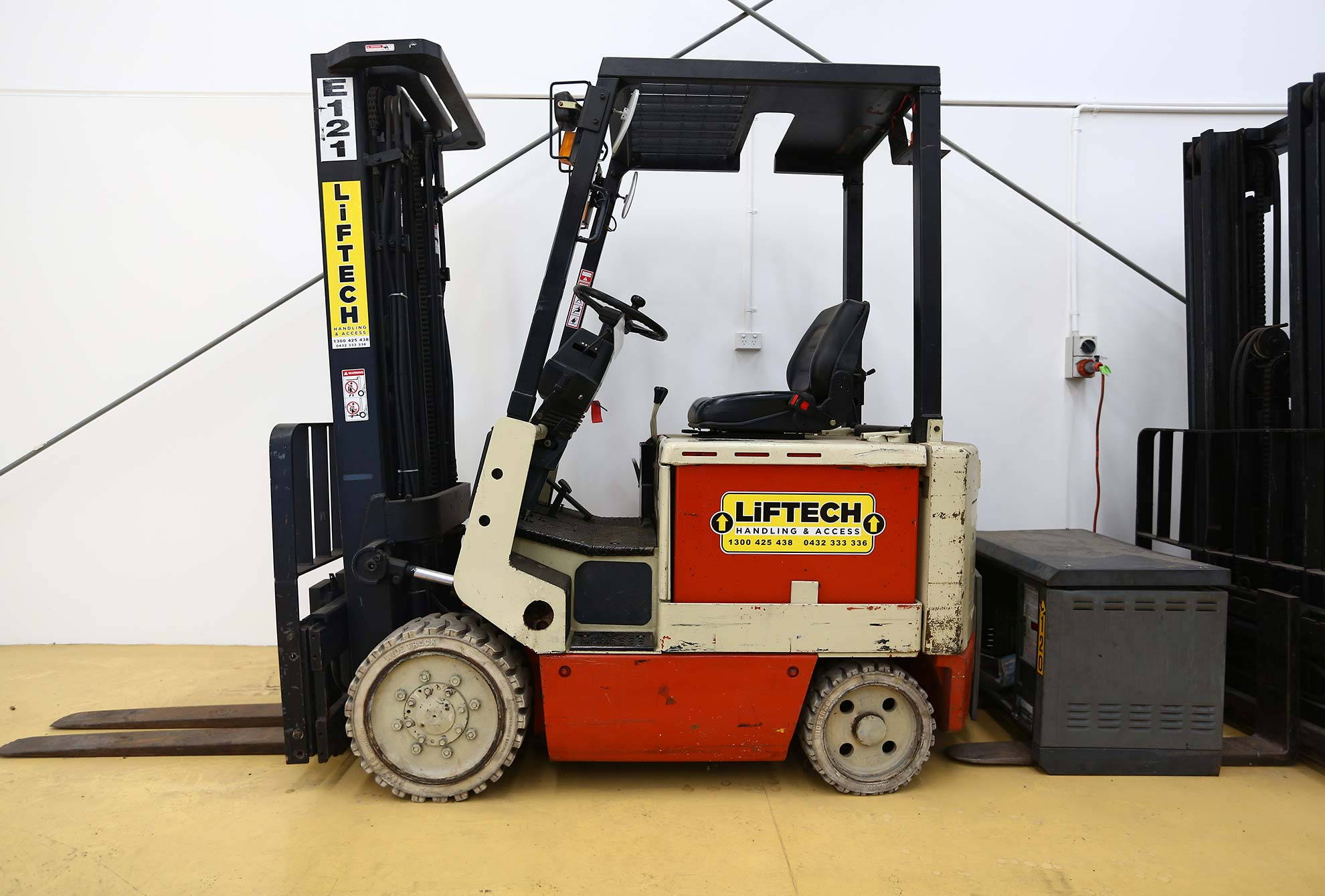 2.5 cb electric forklift