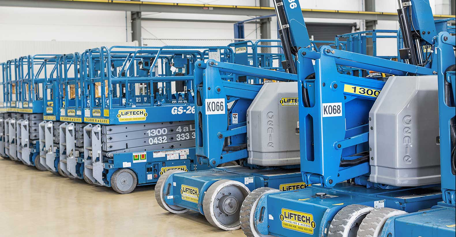 Knuckle Boom Lift Rental