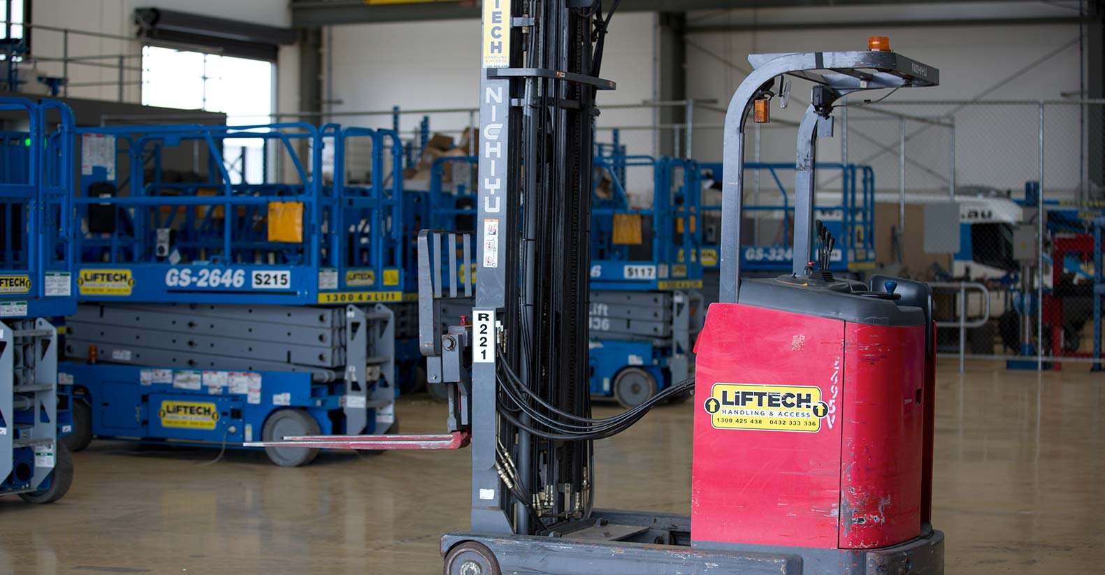Electric Forklift Hire