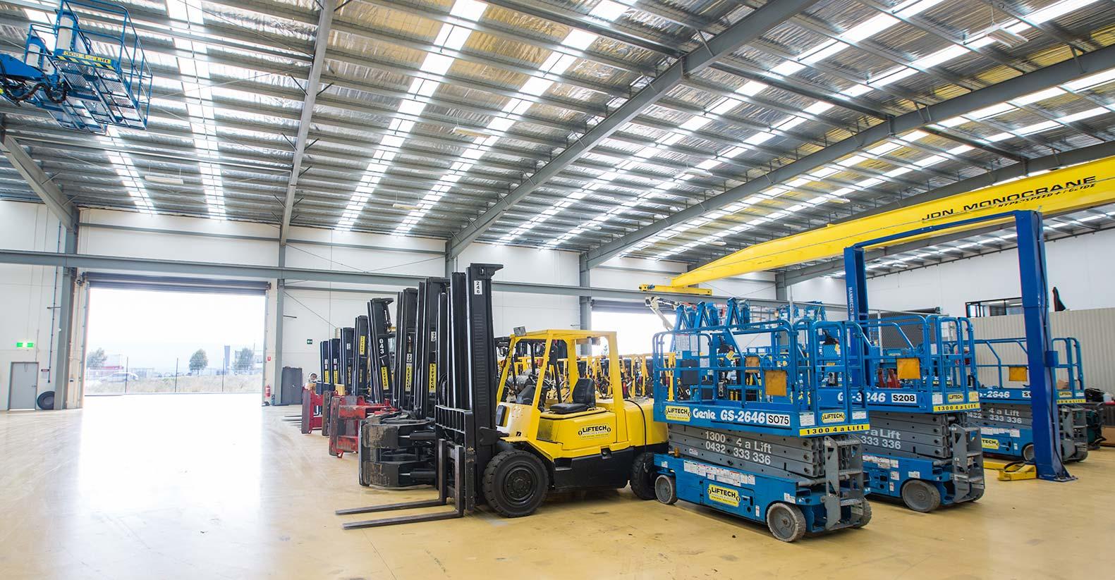 Electric Forklifts Rental Melbourne