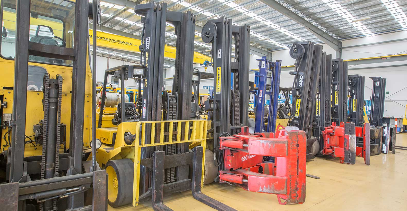 LPG Forklifts Rental in Melbourne