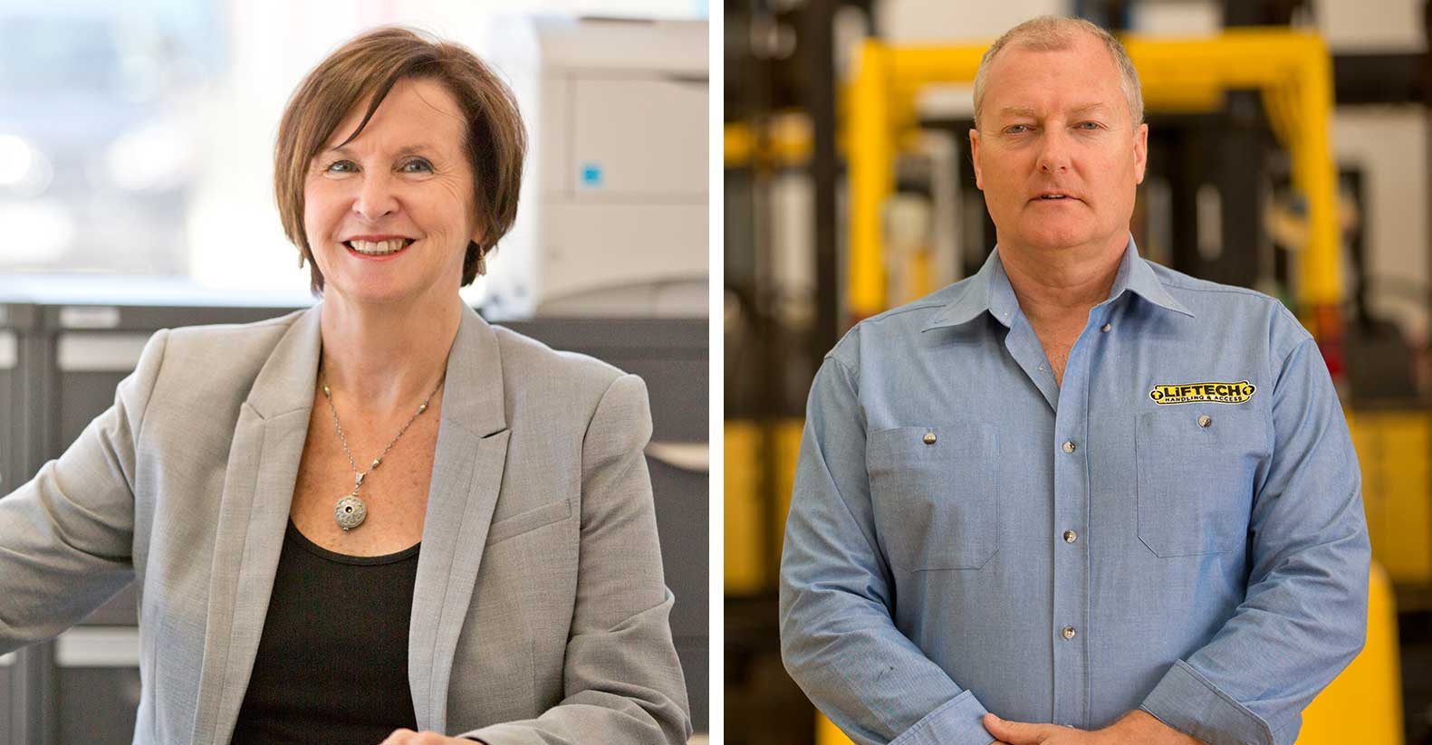 Liftech Founder Gary and Gail Pope