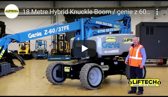 18 Metre Hybrid Knuckle Boom Video