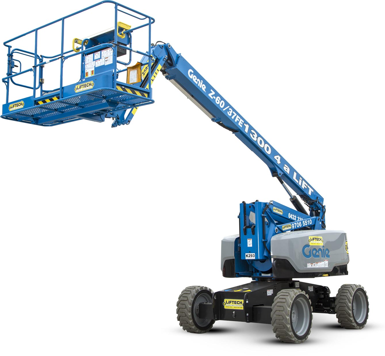 Knuckle Boom - Access Equipment Hire in Melbourne