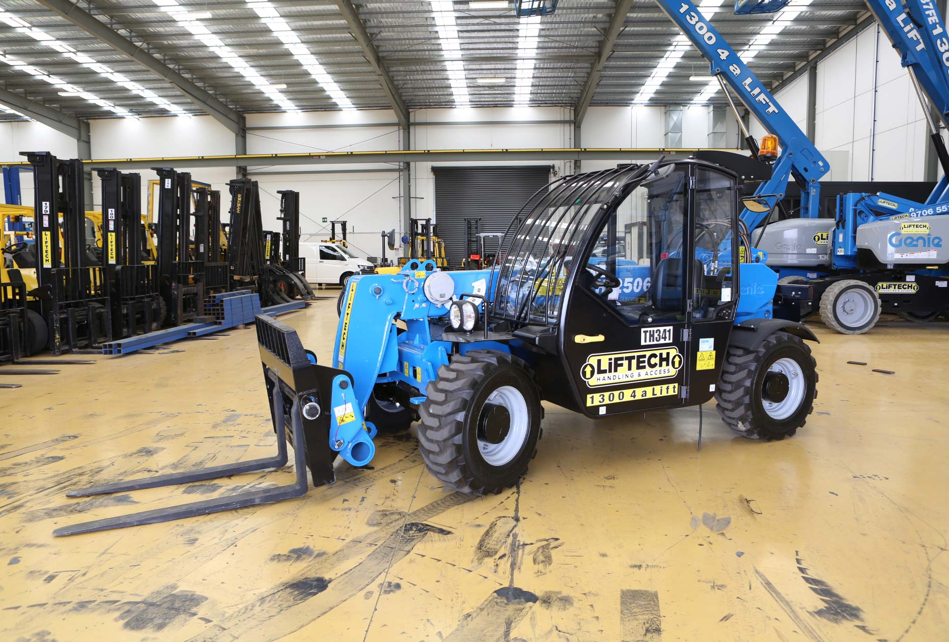 2.5 Tonne Telehandler Forklift for Hire in Melbourne