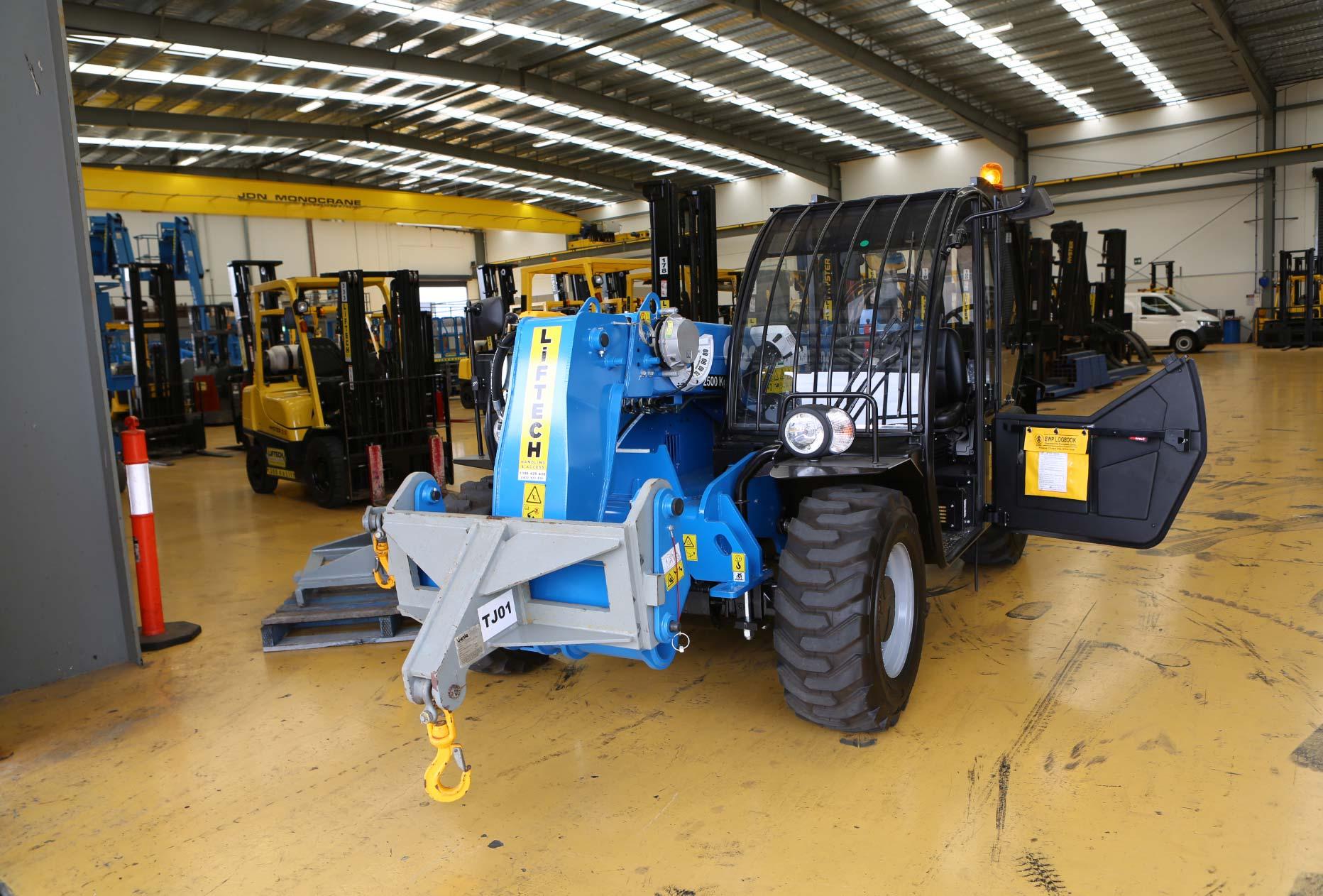 Attachment Of 2.5 Tonne Telehandler Forklift