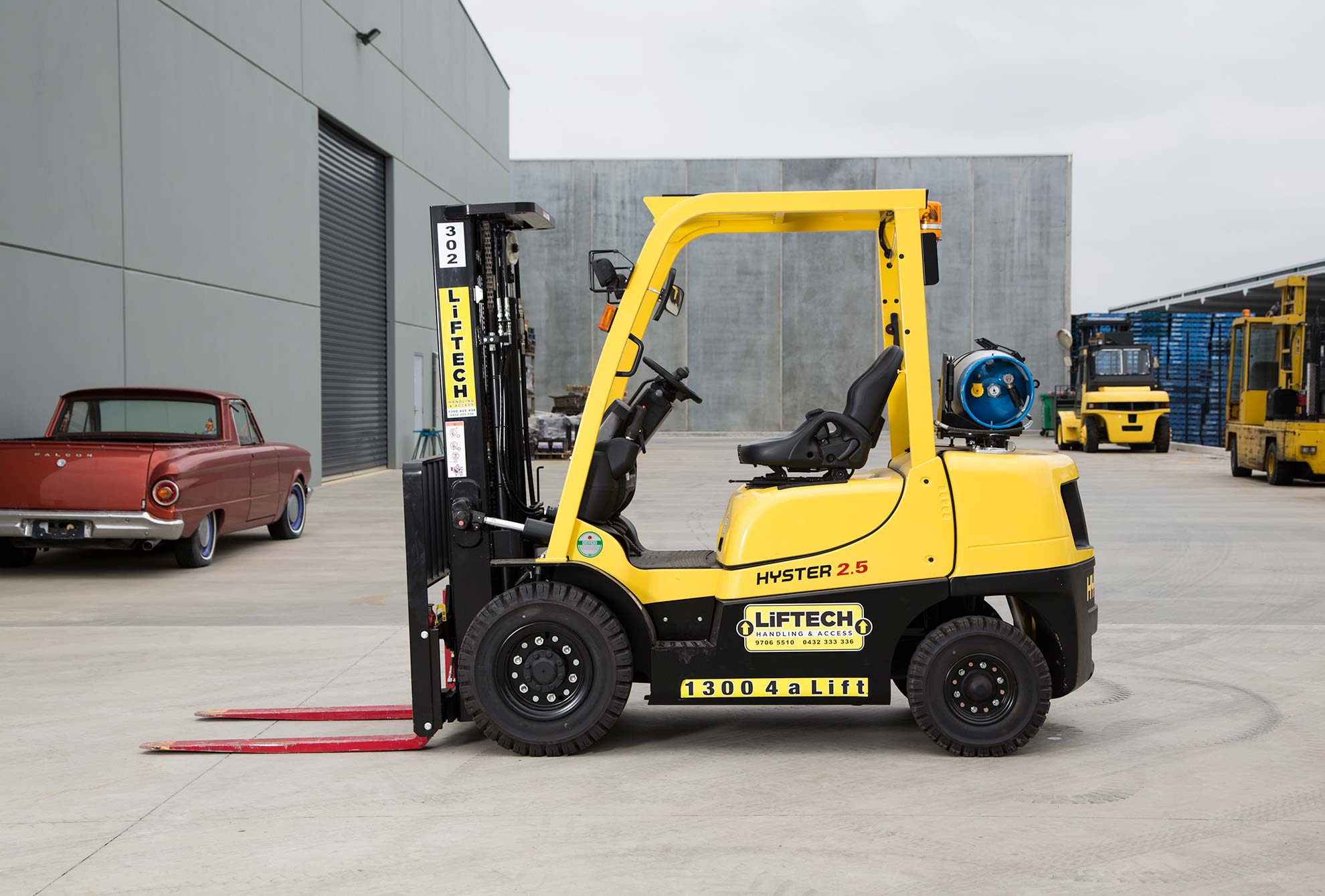 LPG Container Mast Forklift