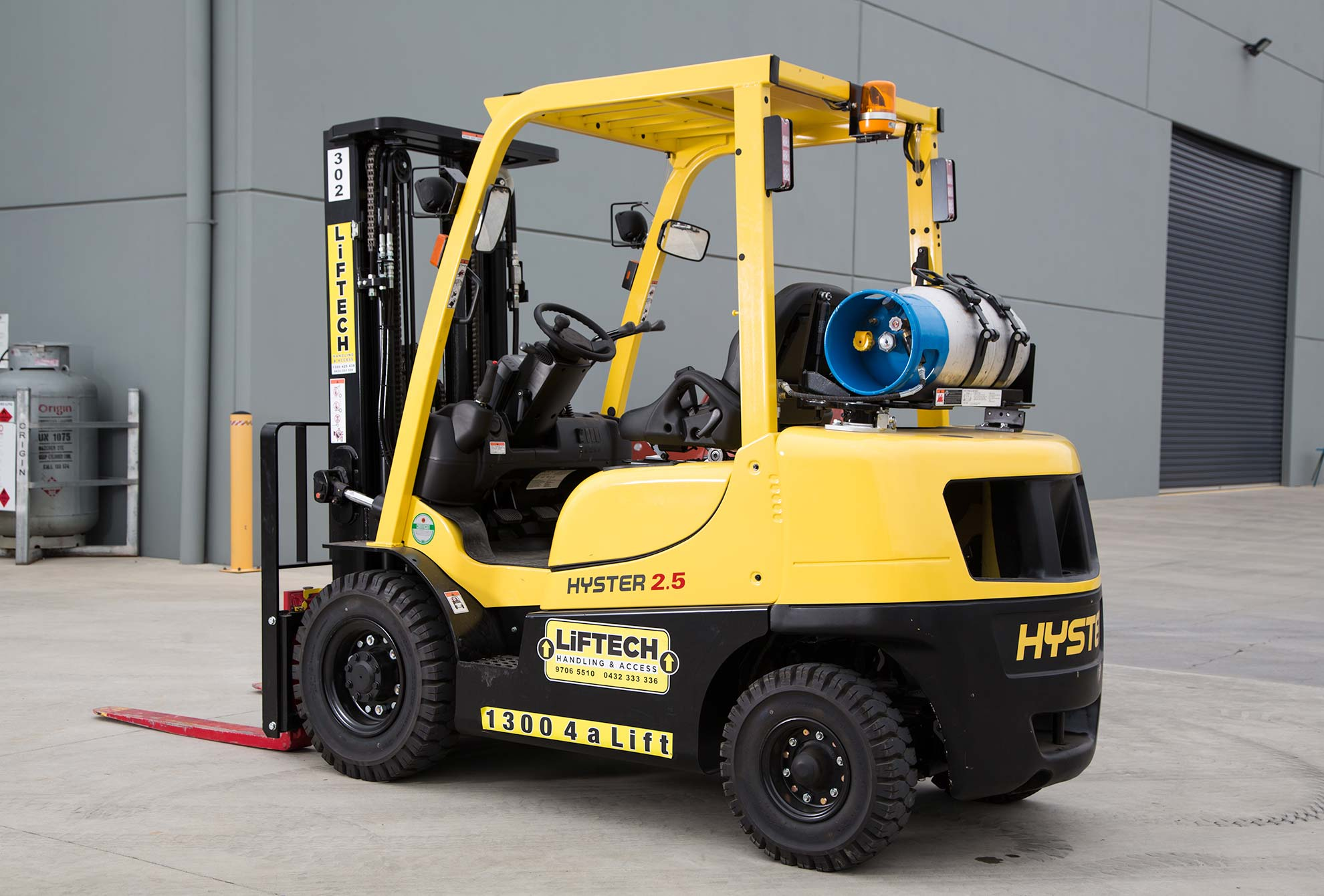 2500 kg Container Forklift