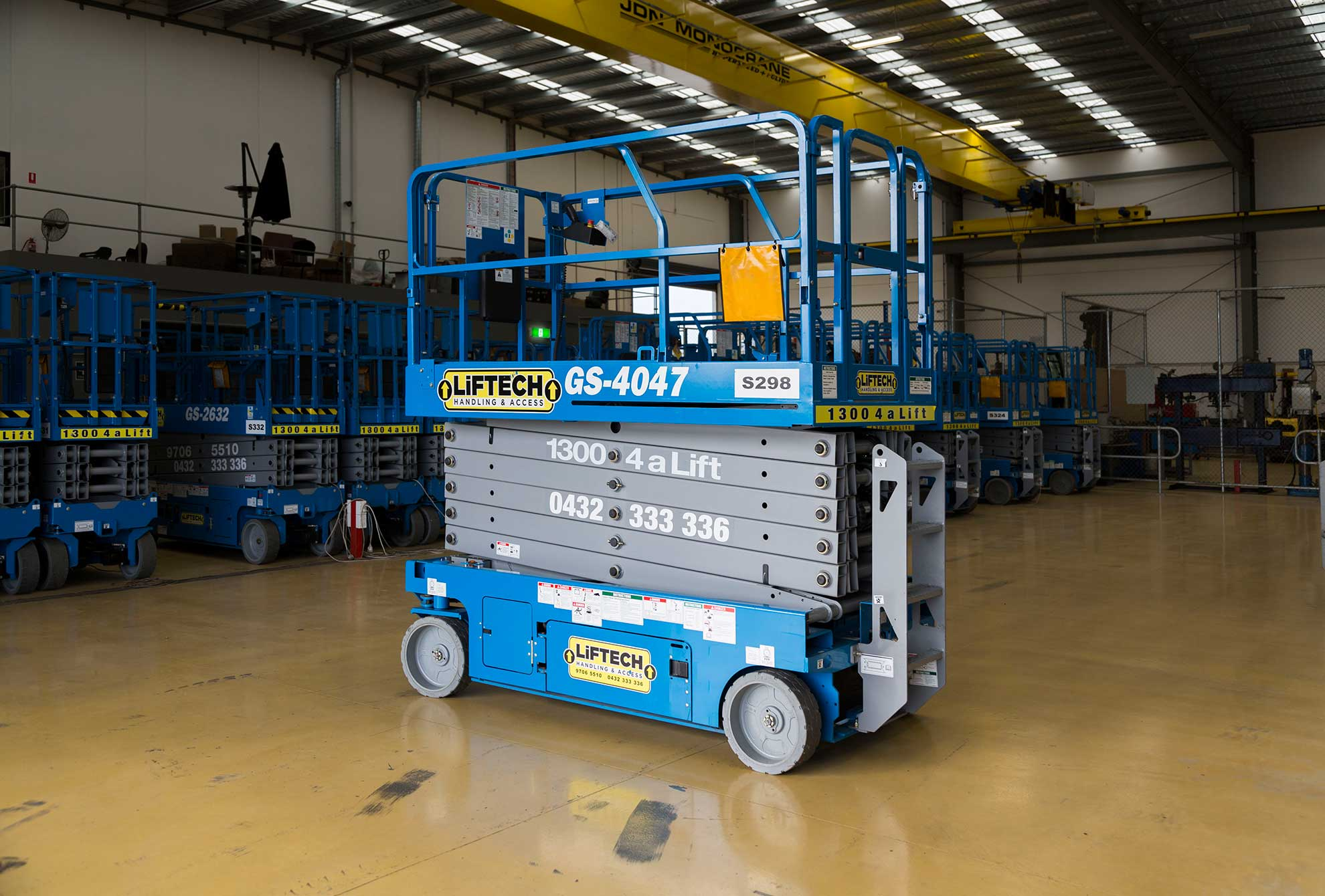 12m Standard Scissor Lift for Hire