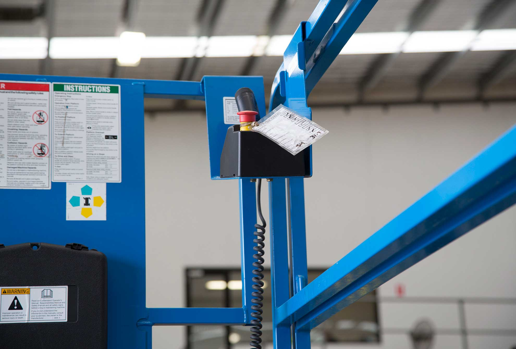 12 Metre Standard Scissor Lift Liftech Melbourne