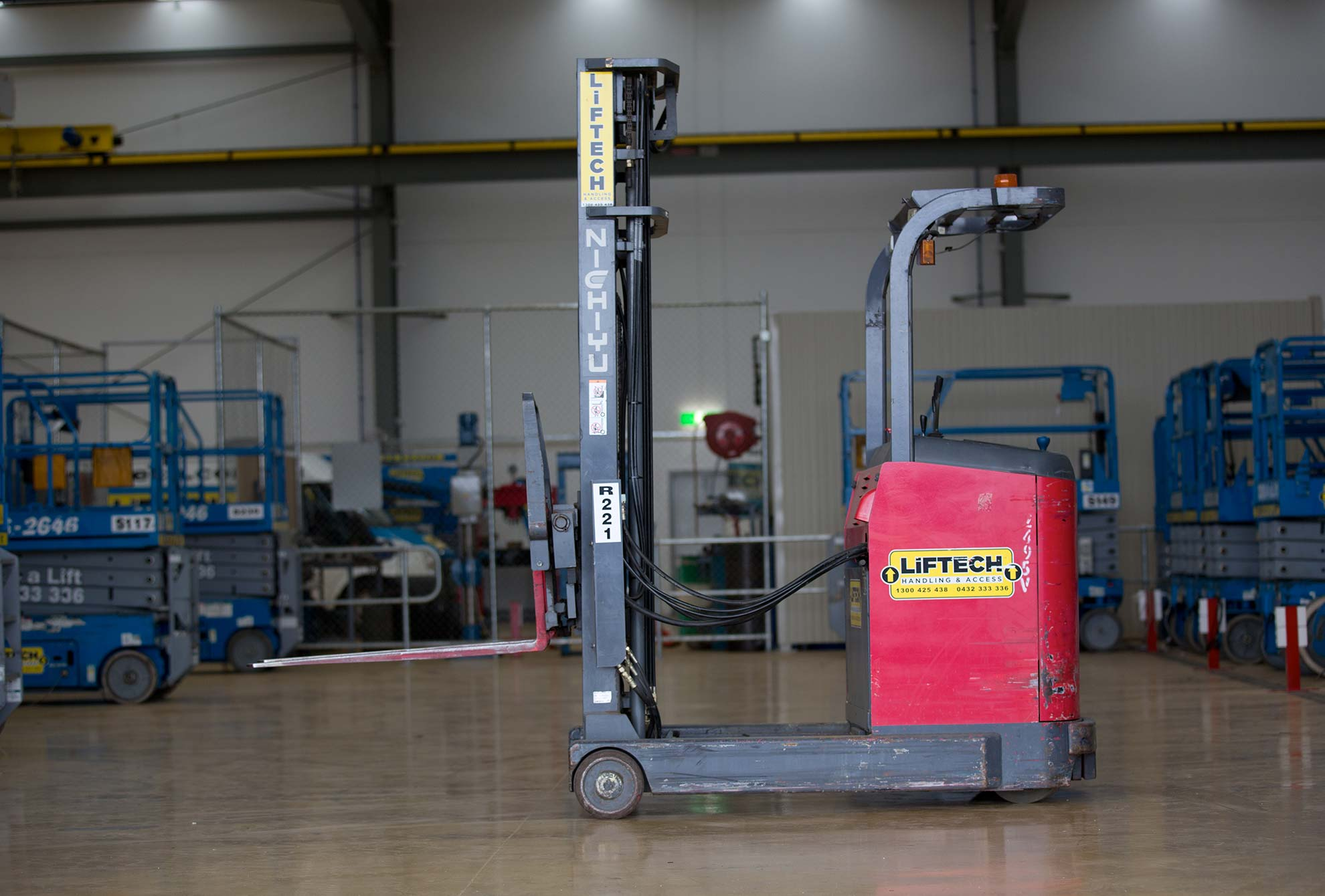 1.2 Tonne Warehouse Forklift