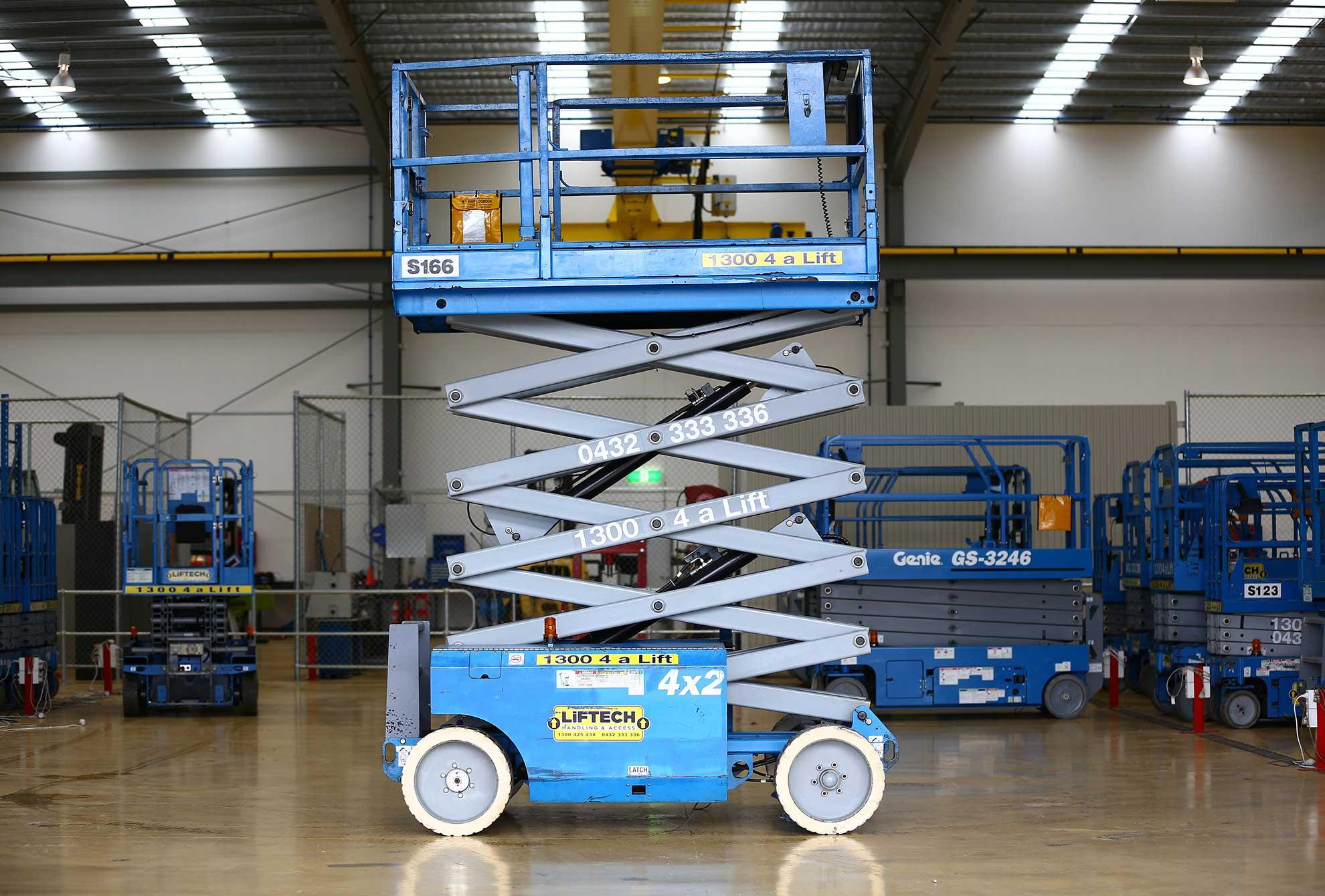 8m Wide Deck Scissor Lift for Rental