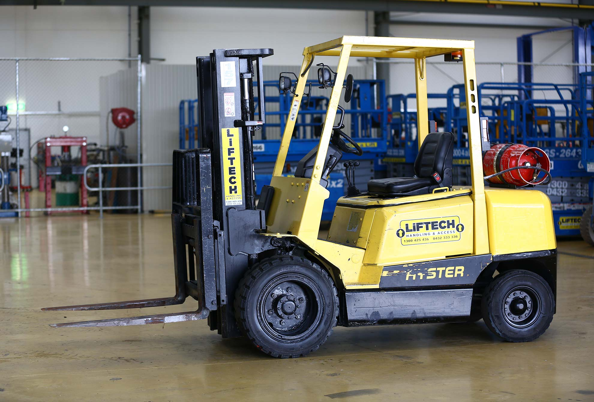 3.0 container mast forklift