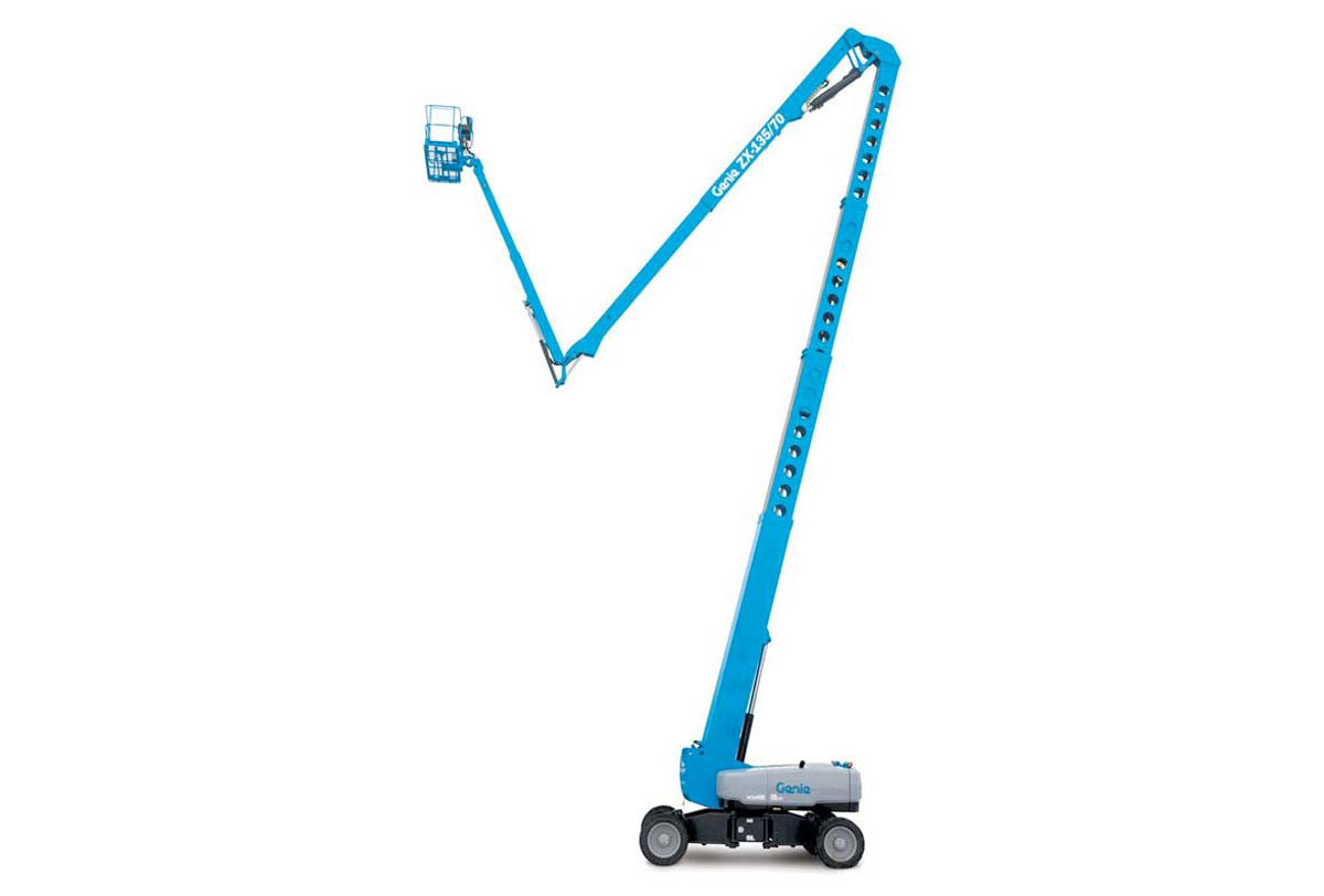 41 metre Rough Terrain Knuckle Boom