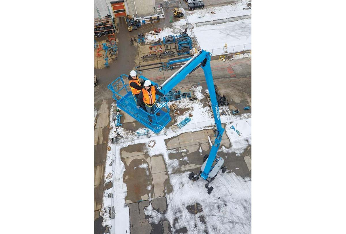 41m RT Knuckle Boom Lift for Hire melbourne