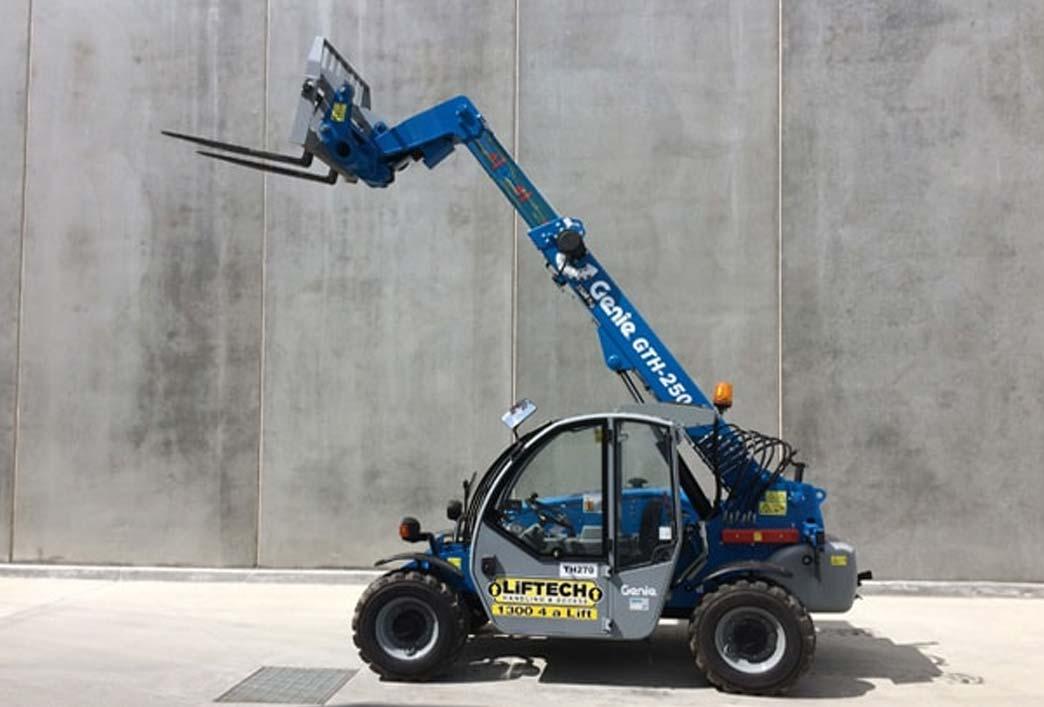 2.5 Tonne Telehandler Forklift Rental Melbourne