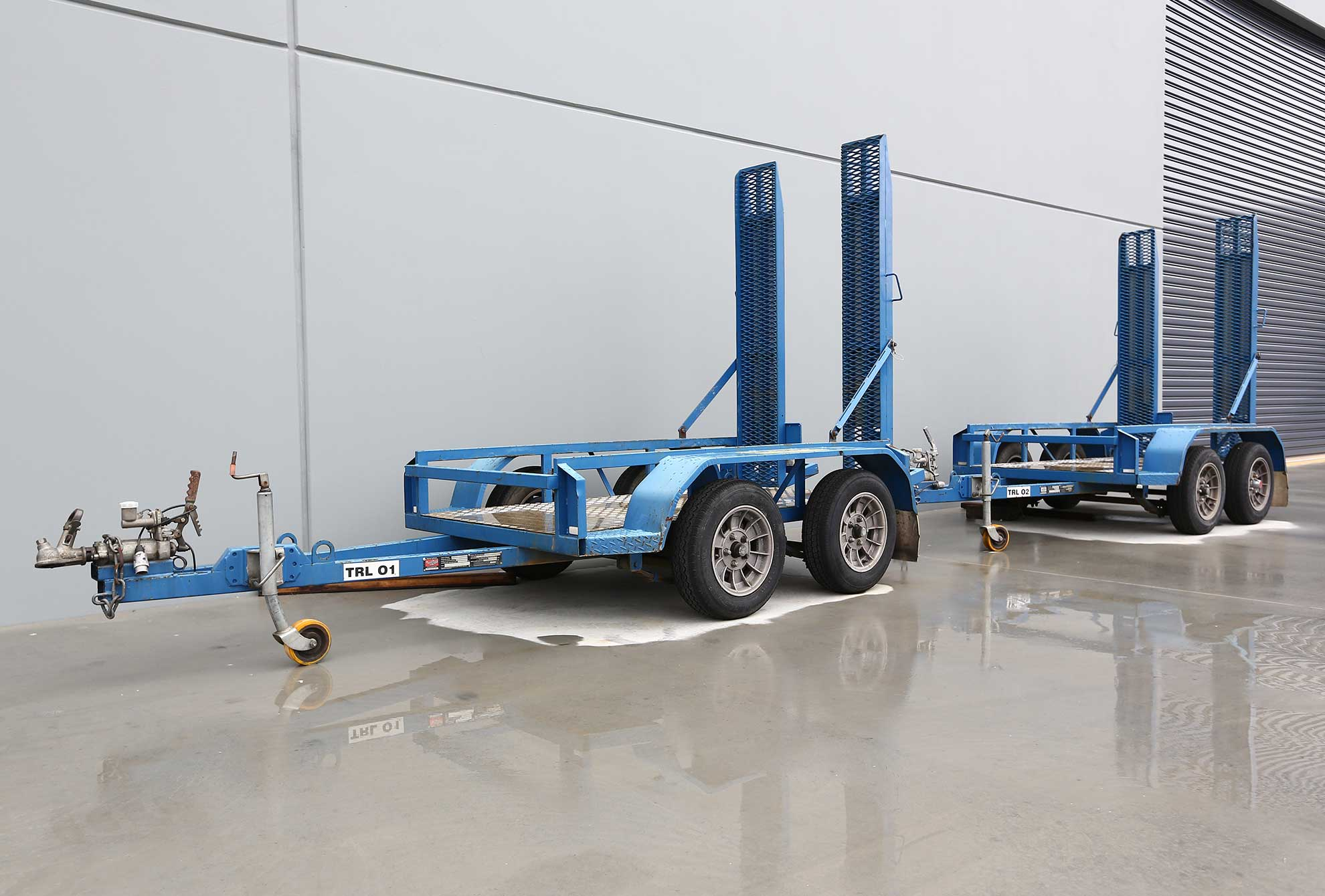 Scissor Lift Trailer Melbourne