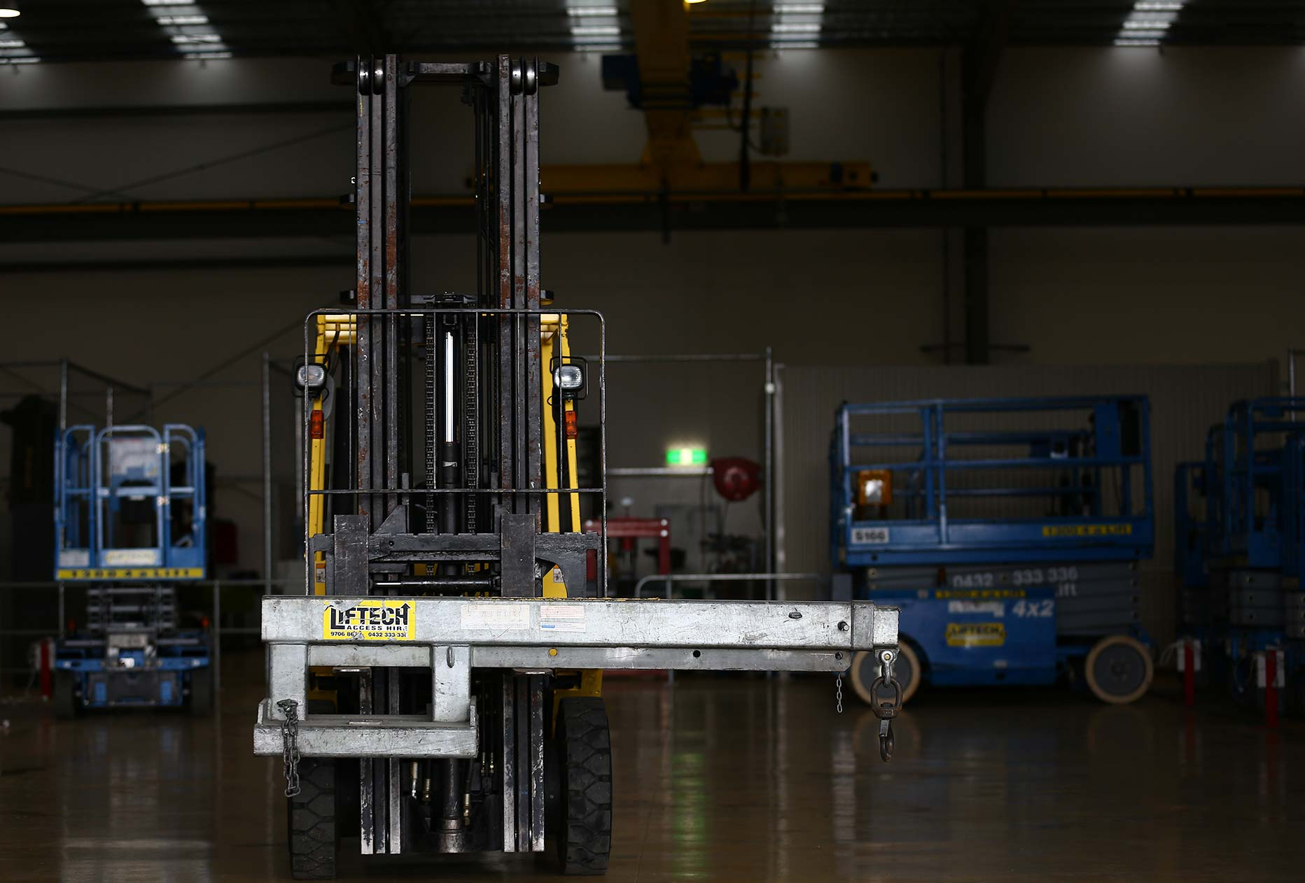 2.5Tonne Articulated Forklift Crane Jib