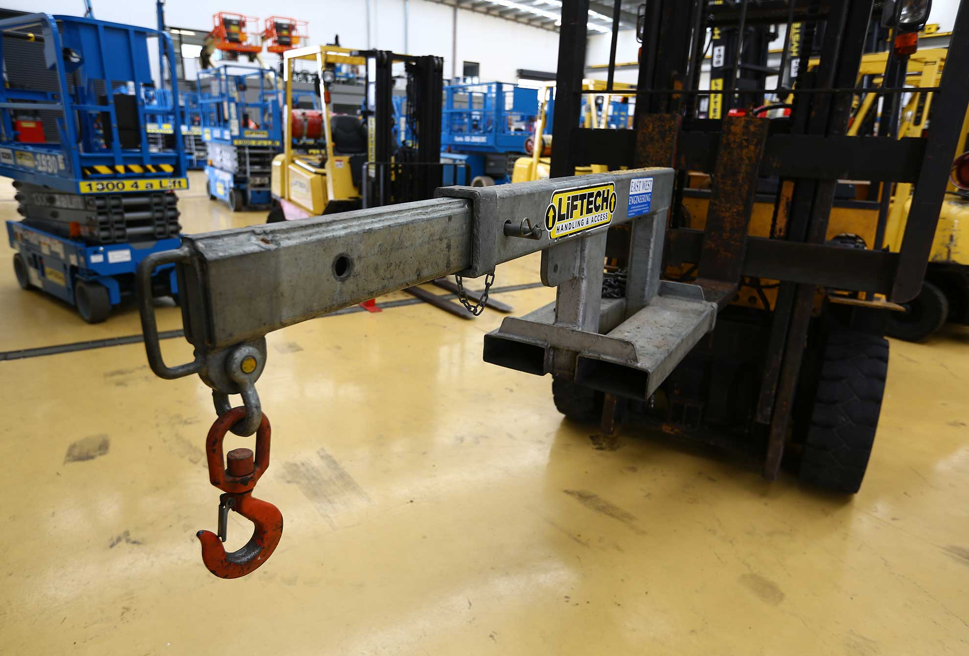 Crane jib 2.5 ton Forklift