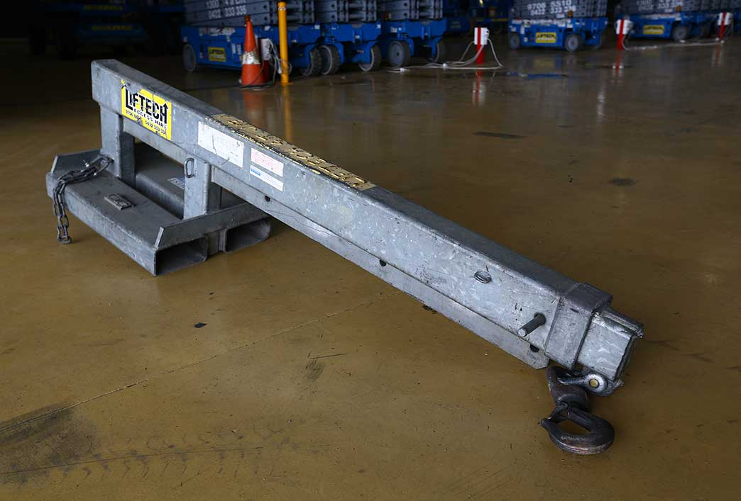 4 Tonne Forklift Crane Jib - Fork Attachments Melbourne