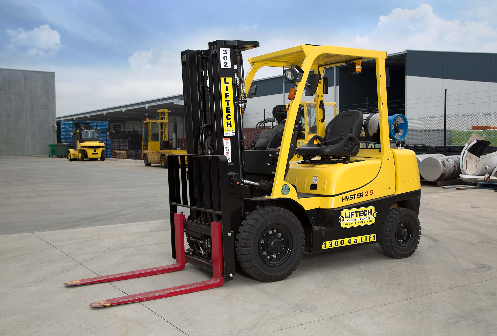 2.5 Tonne Container Forklift
