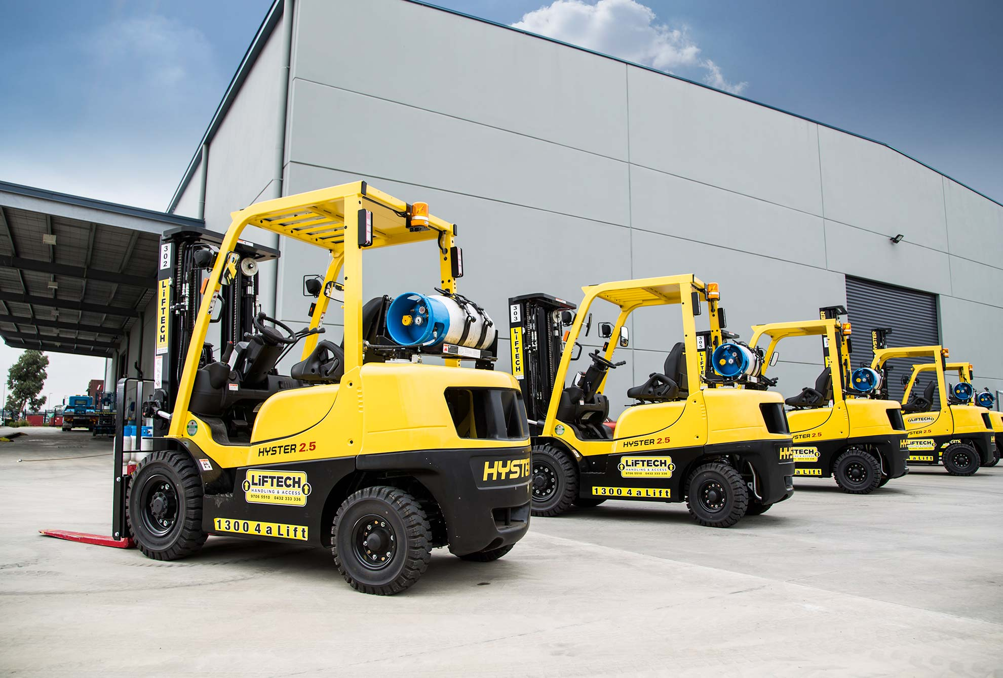 2500 kg 2.5 un-load container