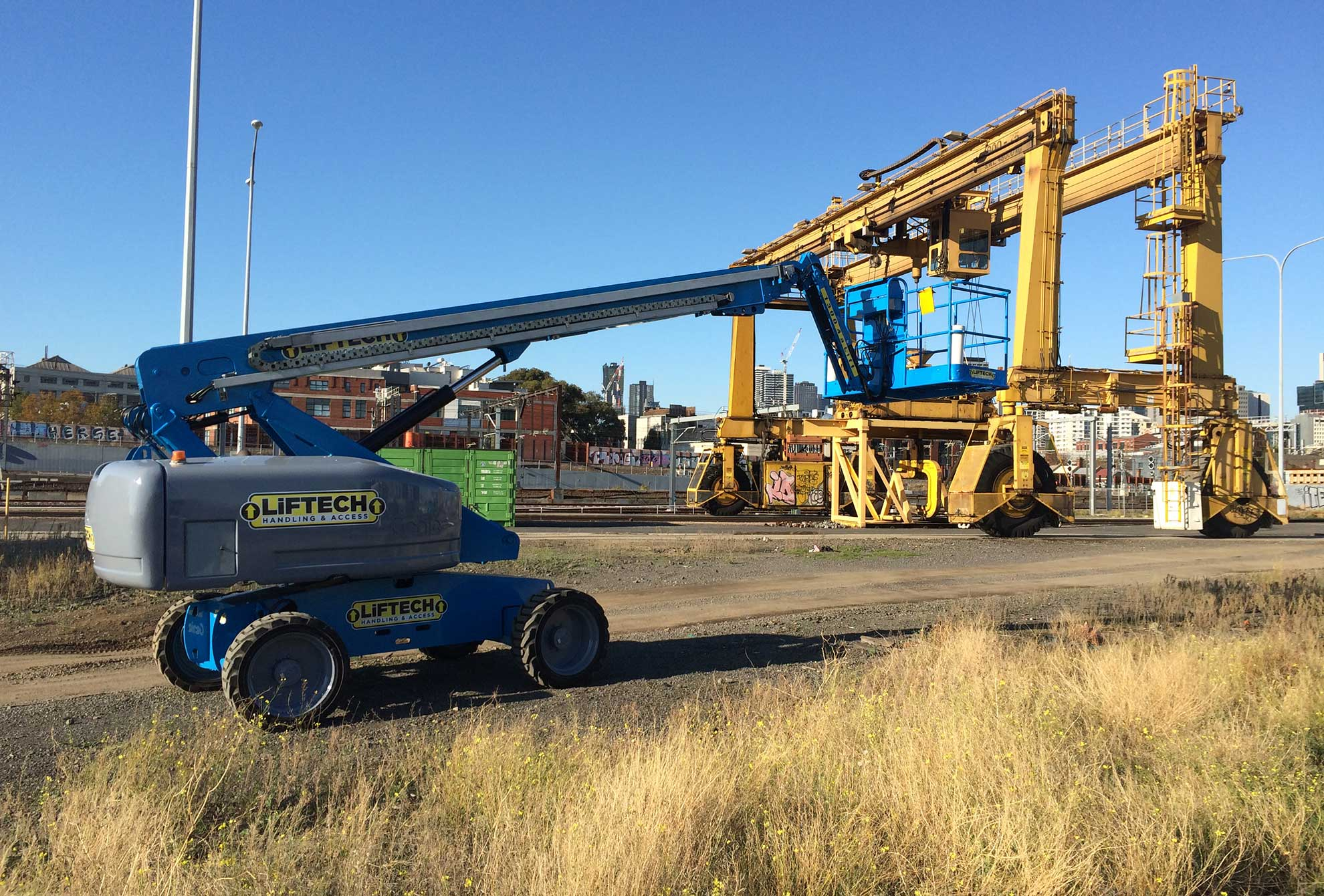 20m RT Straight Boom Lift for Rental Melbourne