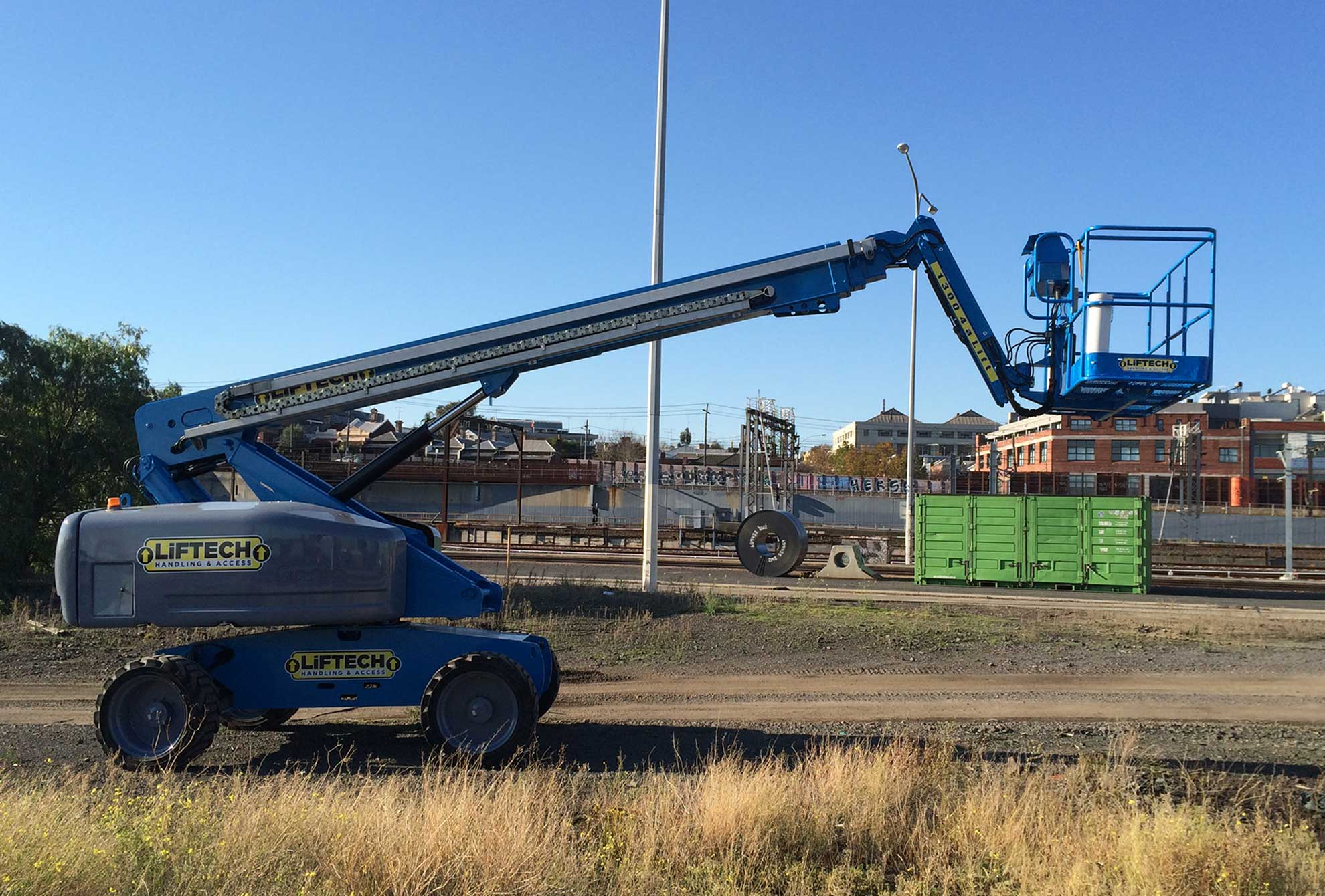 20m RT Straight Boom Lift for Hire