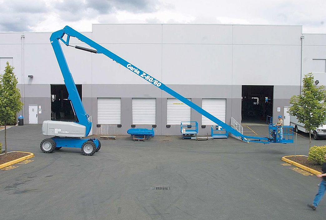 24 Metre Rough Terrain Knuckle Boom