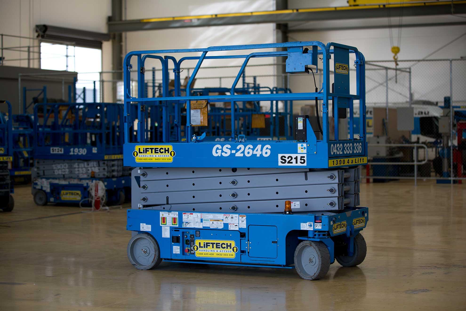 hire 8m Standard Scissor lift