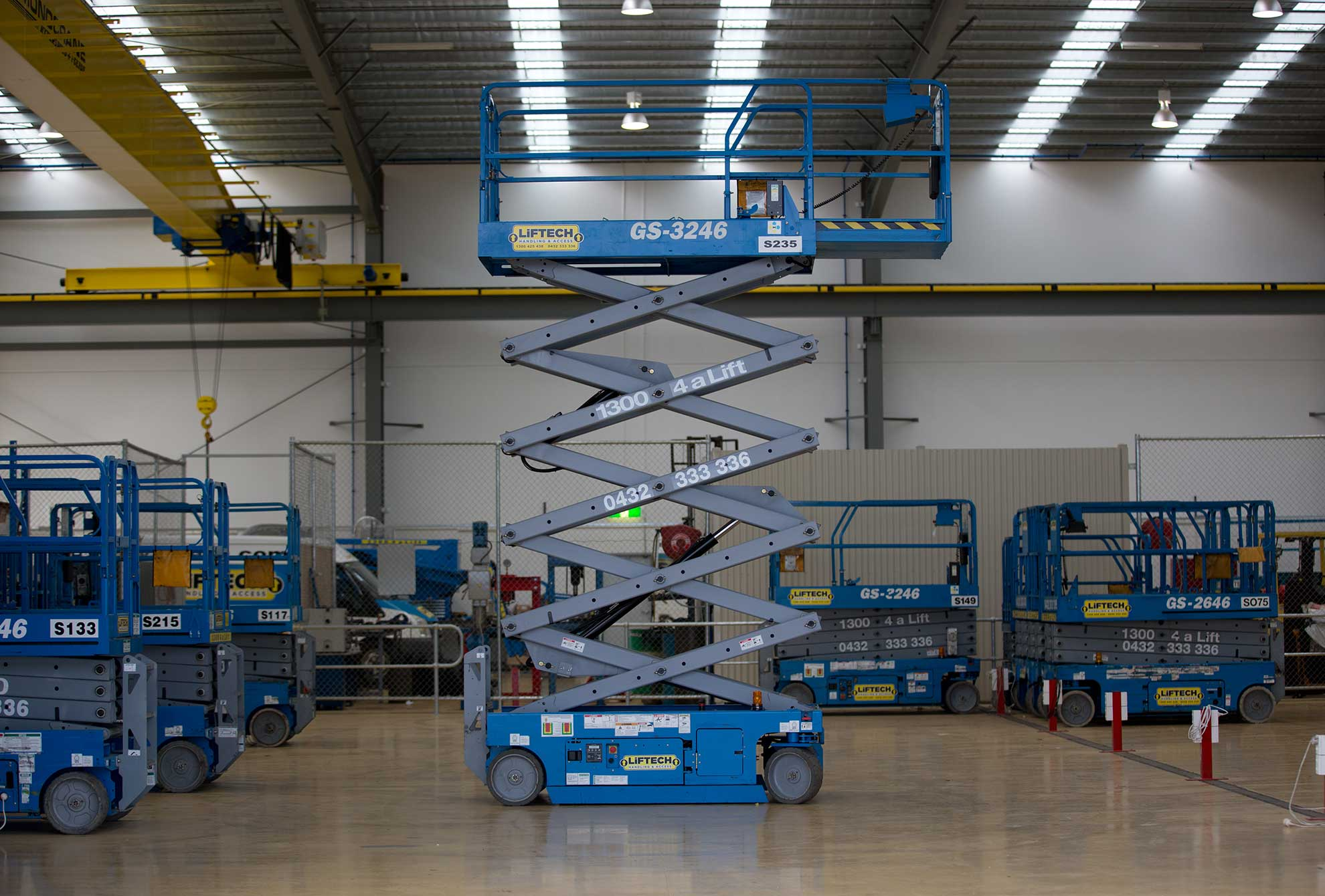 10m Standard Scissor Lift for Rental in Melbourne