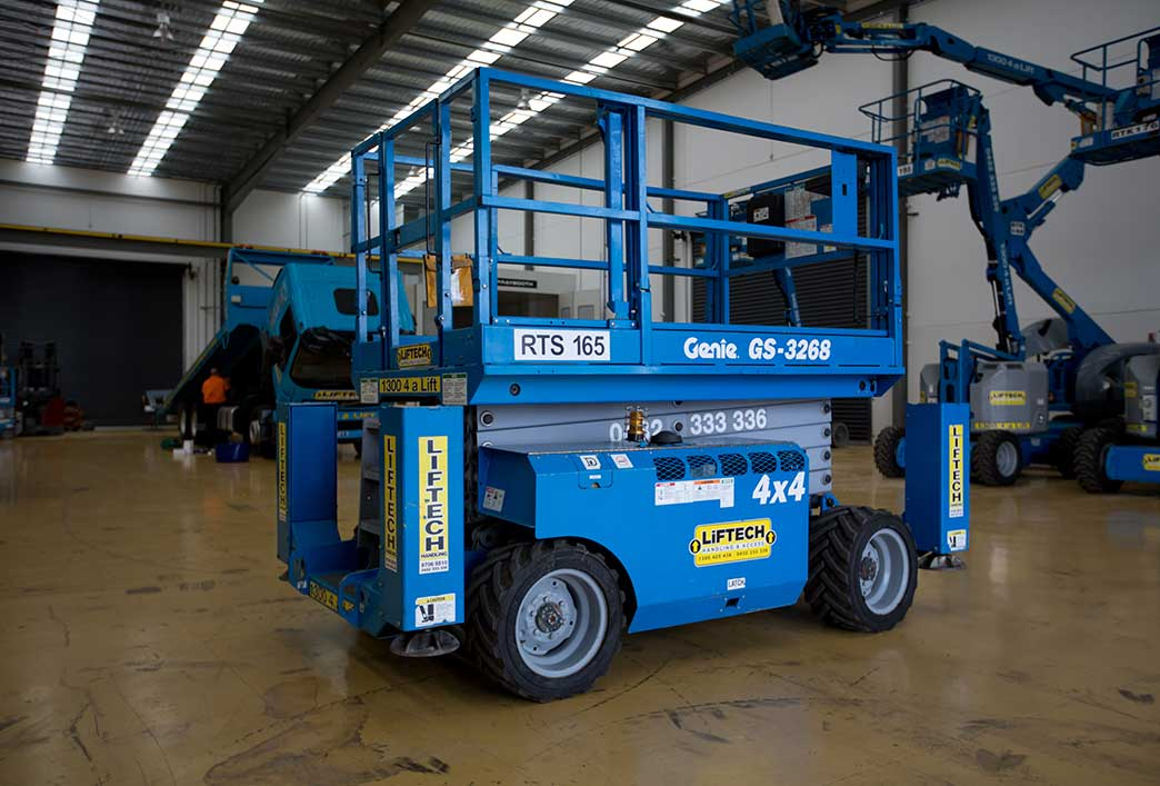 10 Metre Rough Terrain Scissor Lift