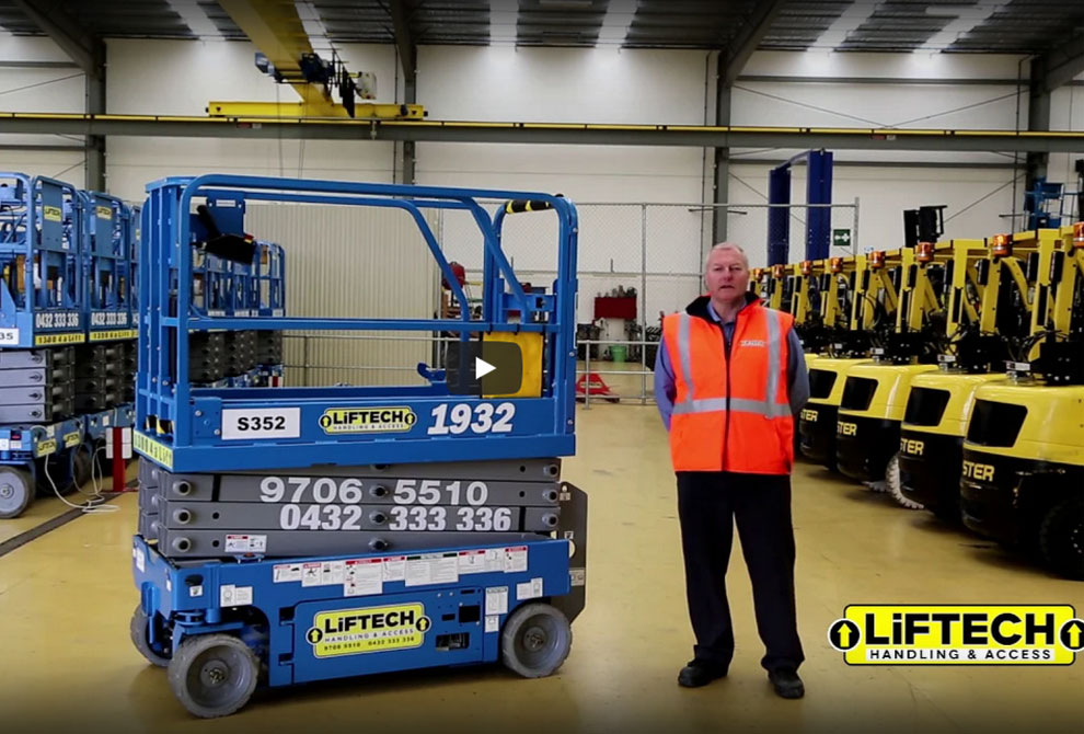 18 metre Hybrid Knuckle Boom lift Hire