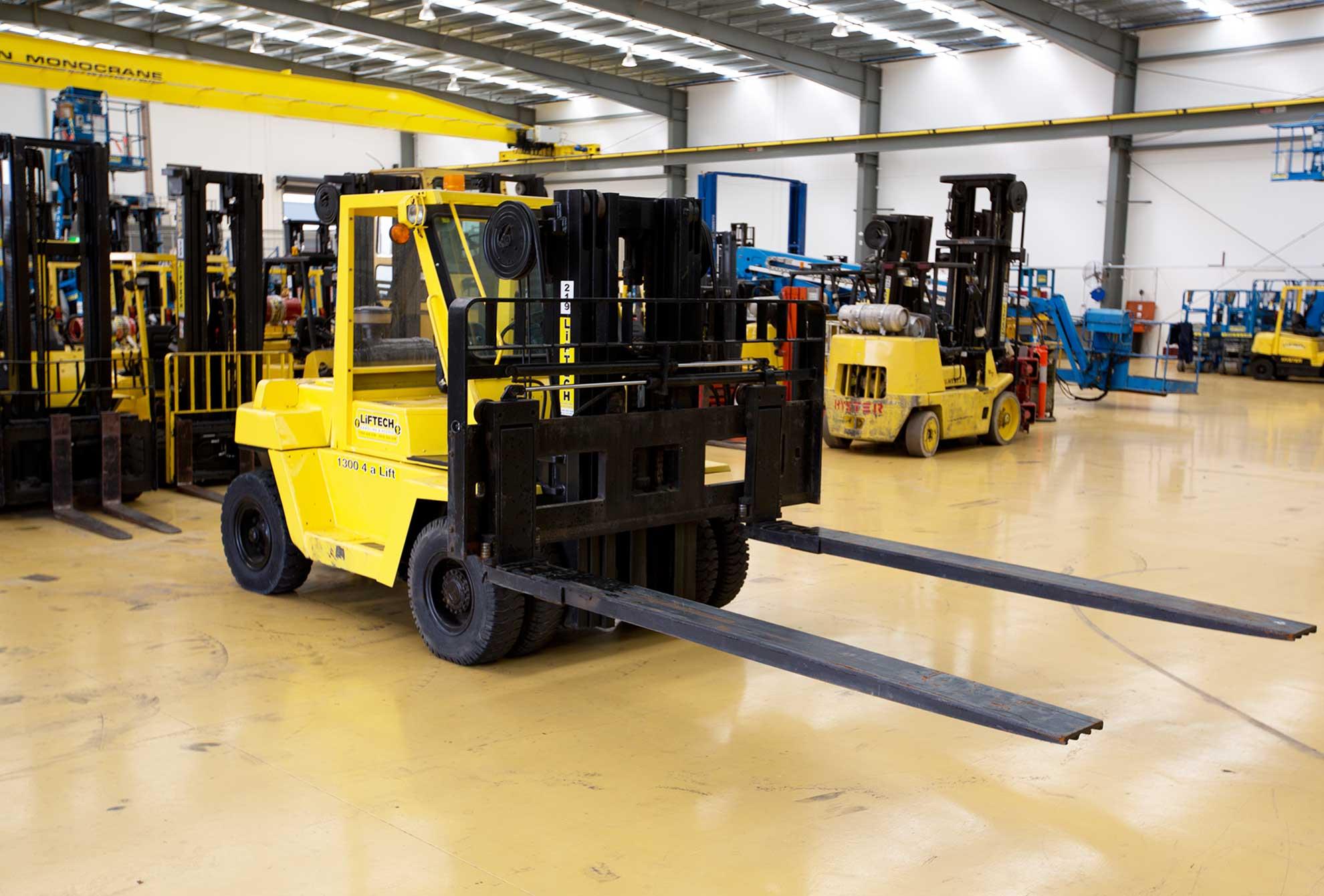 6 Tonne Yard Diesel Forklift