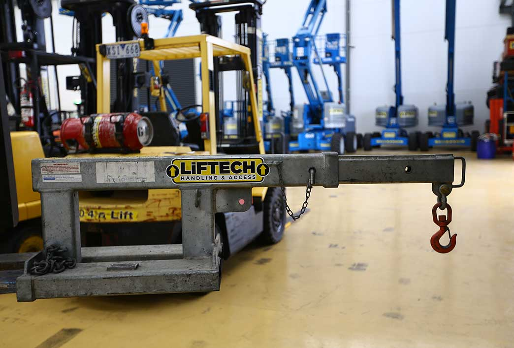 2.5 Tonne Forklift Crane Jib- Melbourne Forklift Attachments