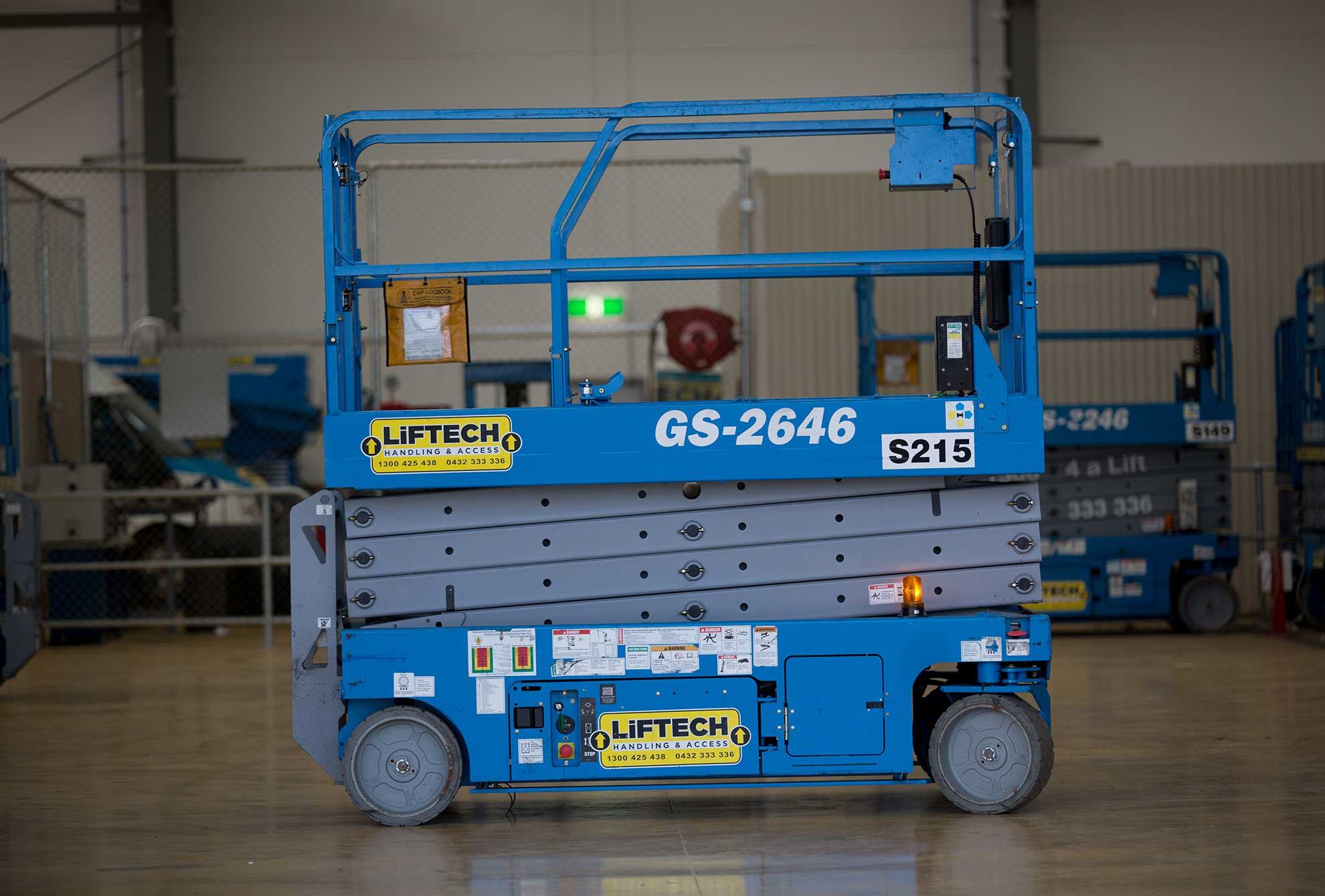 Scissor Lift Hire in Campbellfield