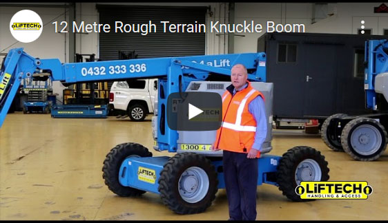 12 Metre Rough Terrain Knuckle Boom Video
