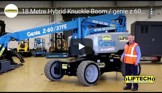 18 Metre Hybrid Knuckle Boom Video
